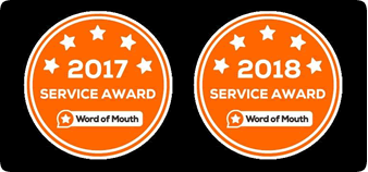 wordofmouth service awards